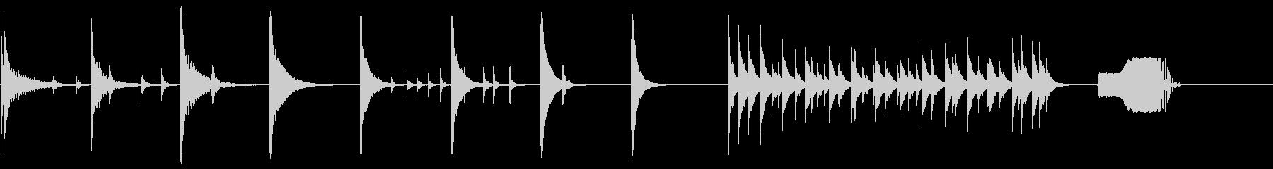 ウッドキシロフォン:TENSION...の未再生の波形