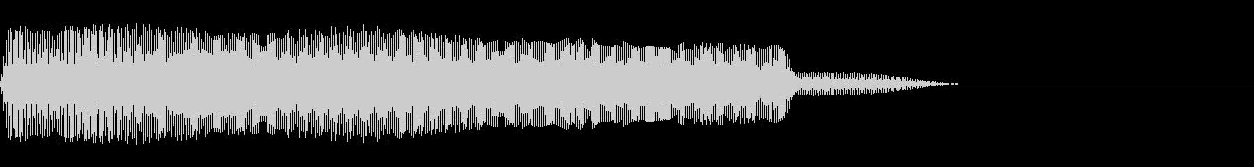 ミー(猫/鳴き声/ファミコン/キャーの未再生の波形