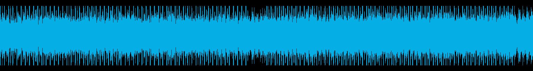 商業用(ループ)の再生済みの波形