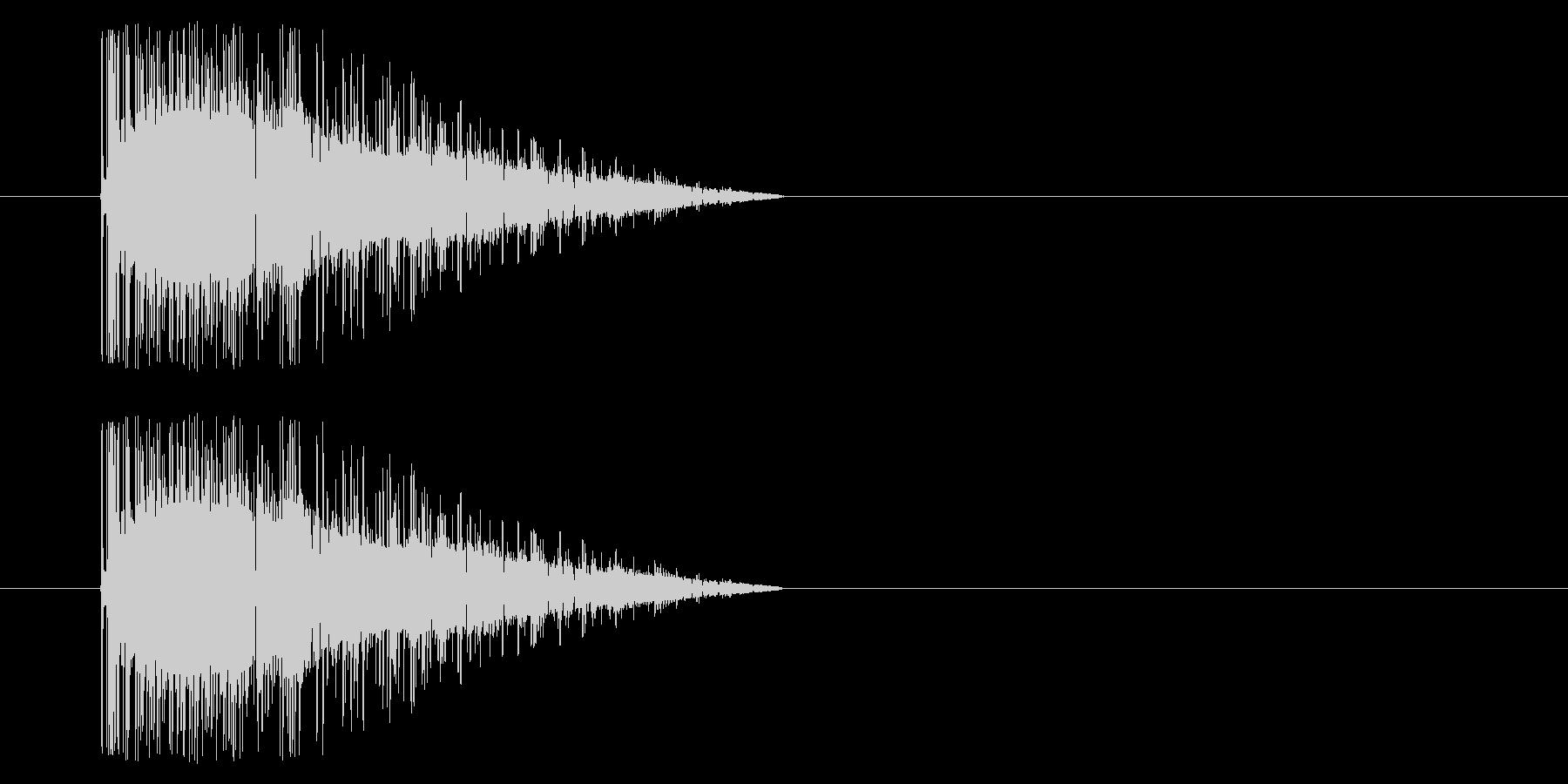 【アーケード 汎用01-18(ノイズ)】の未再生の波形