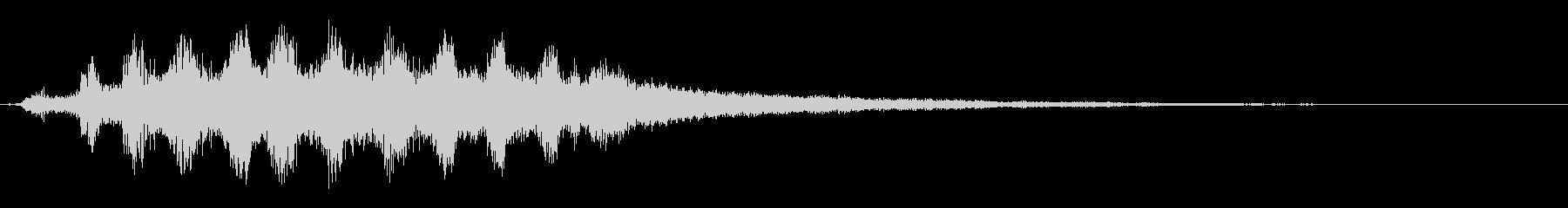 ハロウィン/ホラーに最適な不気味な笑い声の未再生の波形