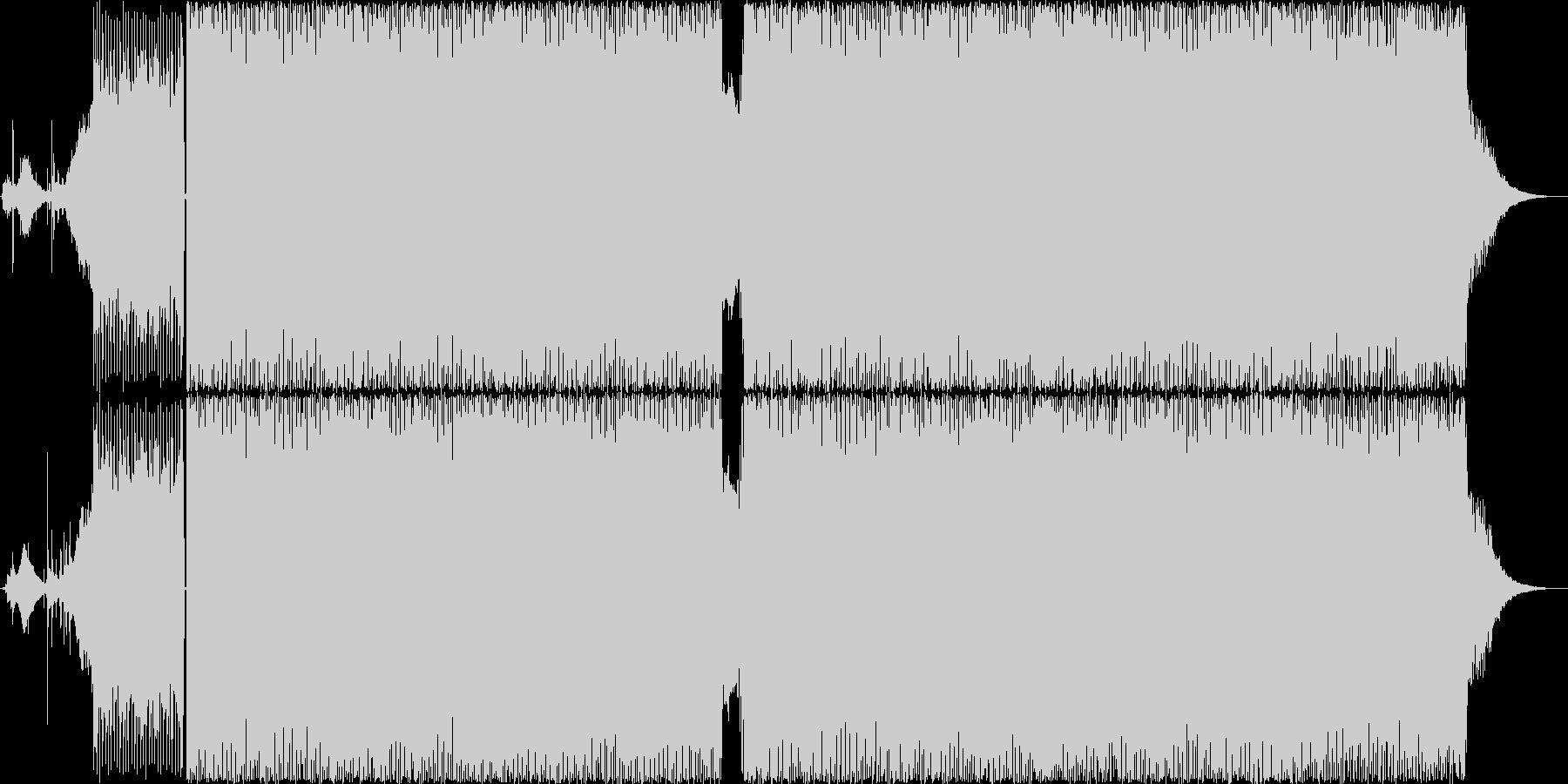 サイケデリックトランス 無機質 の未再生の波形