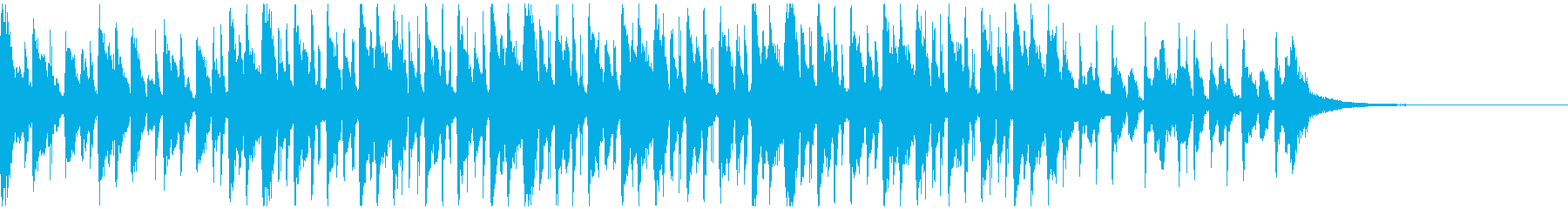 企業VP/CM元気な口笛のマーチBGMの再生済みの波形
