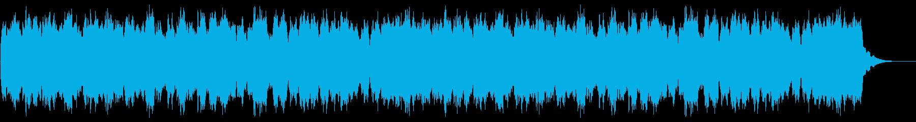 定番クリスマスキャロルのオルガンソロの再生済みの波形