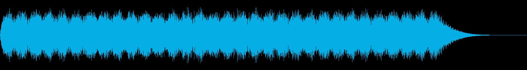 警報 6の再生済みの波形