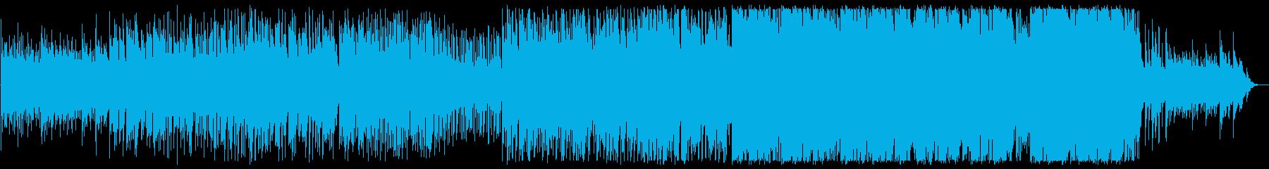 ゆったりなリズムで和むメロディーの再生済みの波形