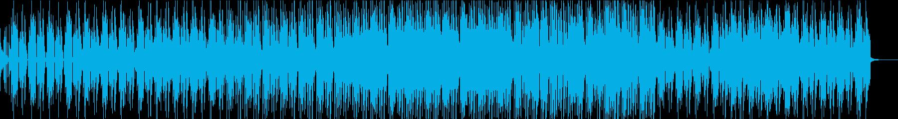 ハッピーバースデーのレゲエバージョンの再生済みの波形