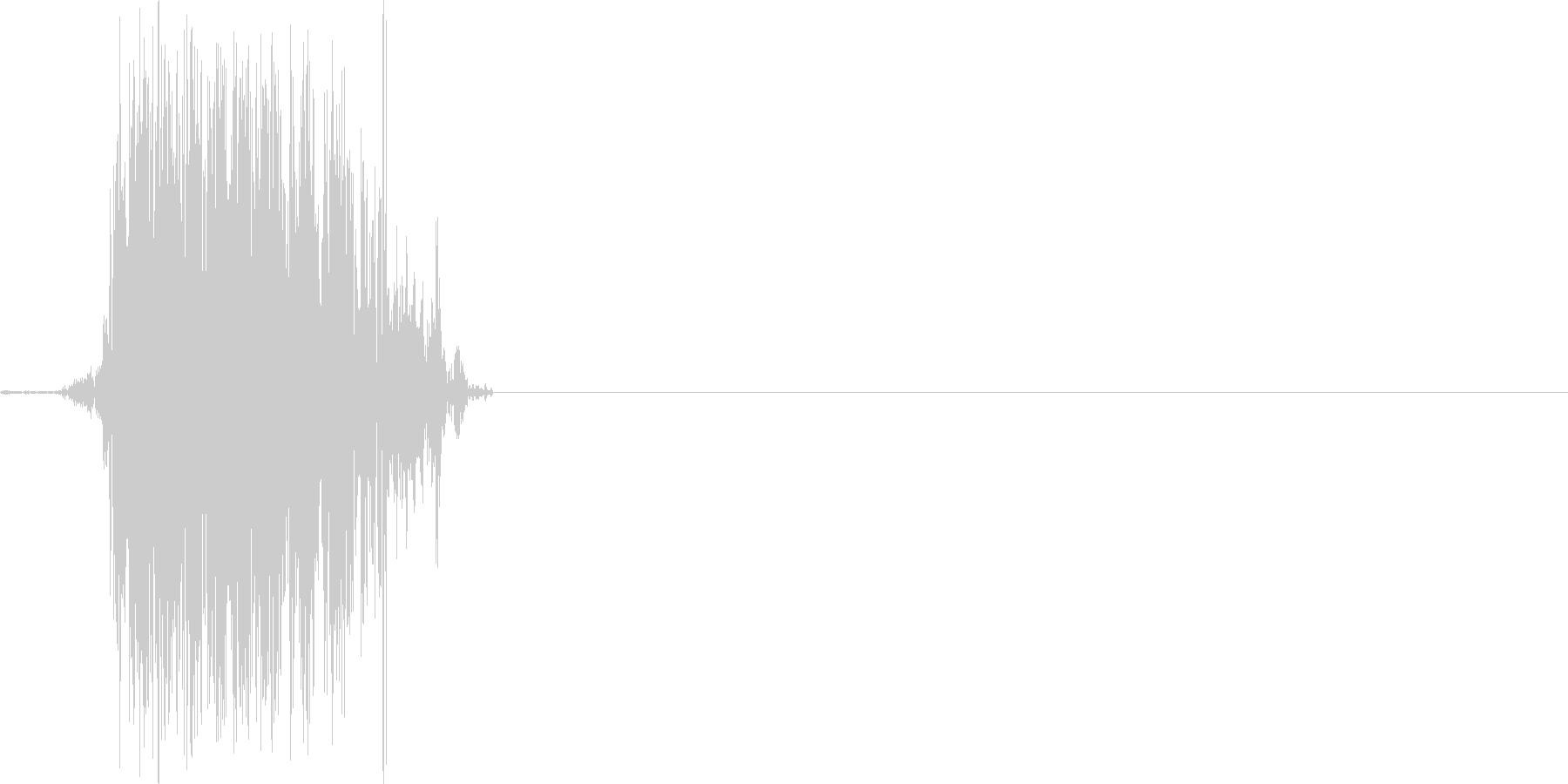 Horse Snortジェネリックの未再生の波形