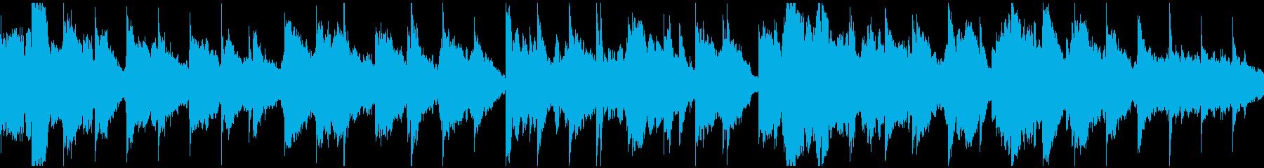 安眠系ふわふわリラクゼーション※ループ版の再生済みの波形