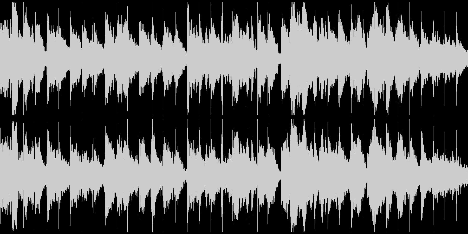 安眠系ふわふわリラクゼーション※ループ版の未再生の波形
