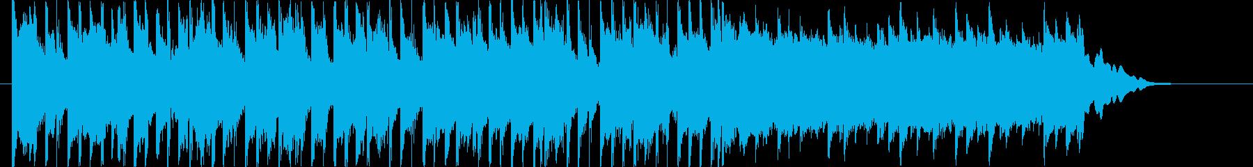 疾走感あるポップBGM(30ver)の再生済みの波形