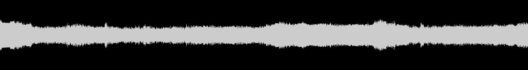 機械が演算をしているときの音の未再生の波形