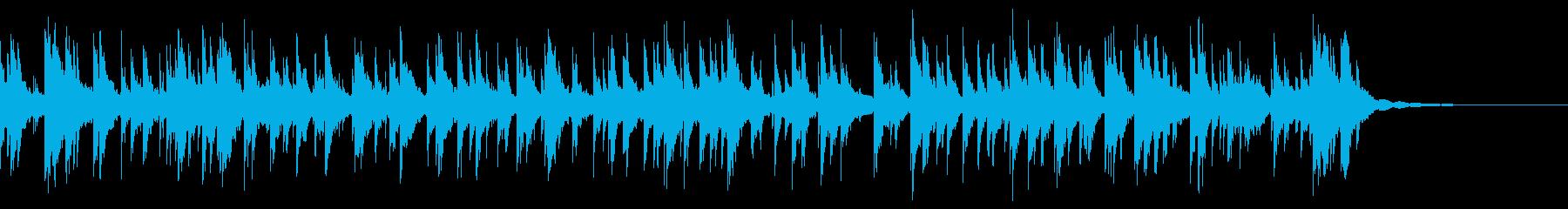 ラージブラスハンドベル:スウィング...の再生済みの波形