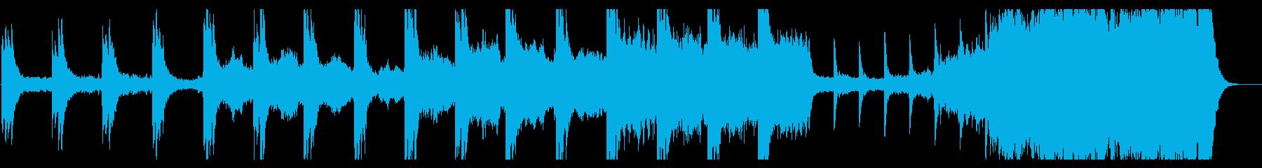 ノスタルジック懐かしい切ないピアノの再生済みの波形