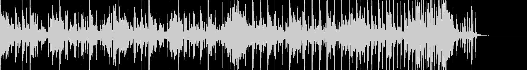 明るくオシャレなディスコのジングルの未再生の波形
