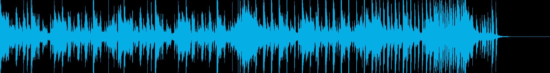 明るくオシャレなディスコのジングルの再生済みの波形