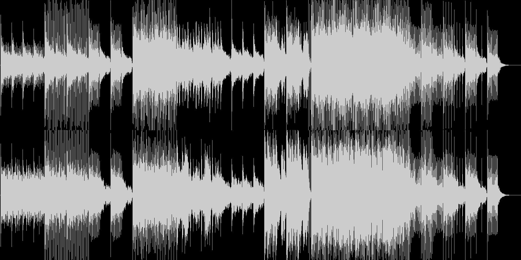森や地球の夜明け・ポスト・ドリームポップの未再生の波形