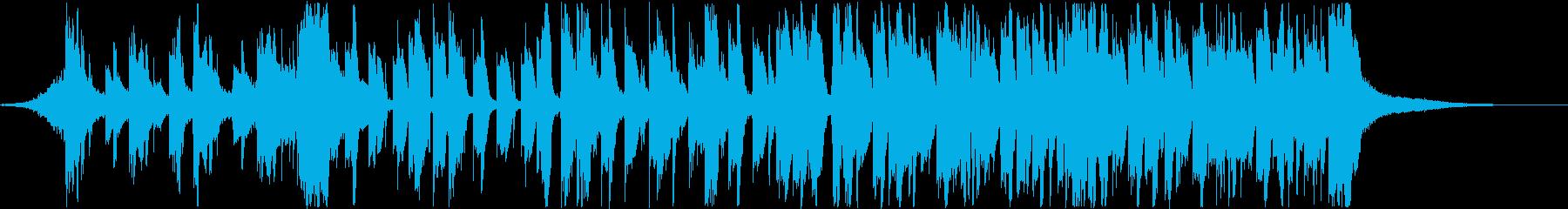 ポップでかわいいK-Popダンス♪声入りの再生済みの波形