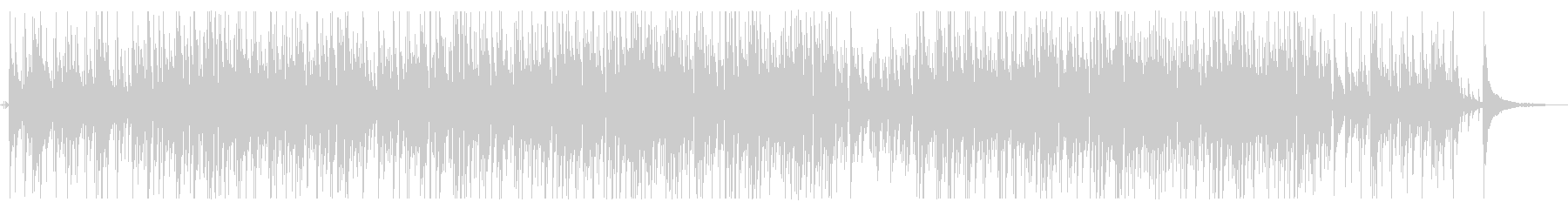 落ち着くボサノバギターBGM Longの未再生の波形