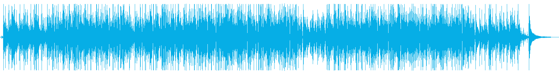 落ち着くボサノバギターBGM Longの再生済みの波形
