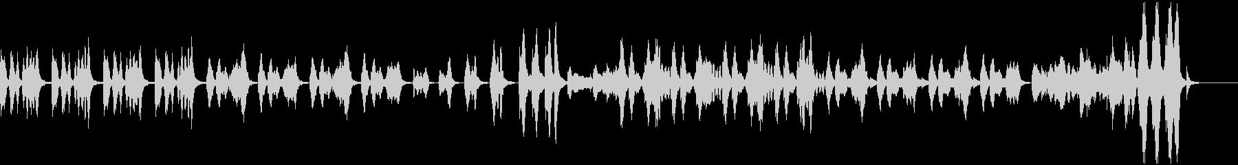 ゲーム メニュー レトロの未再生の波形