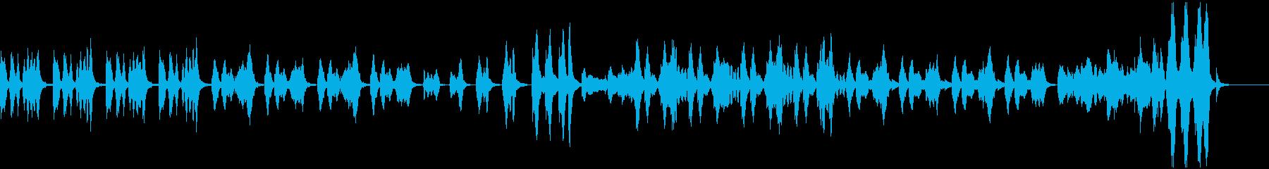ゲーム メニュー レトロの再生済みの波形
