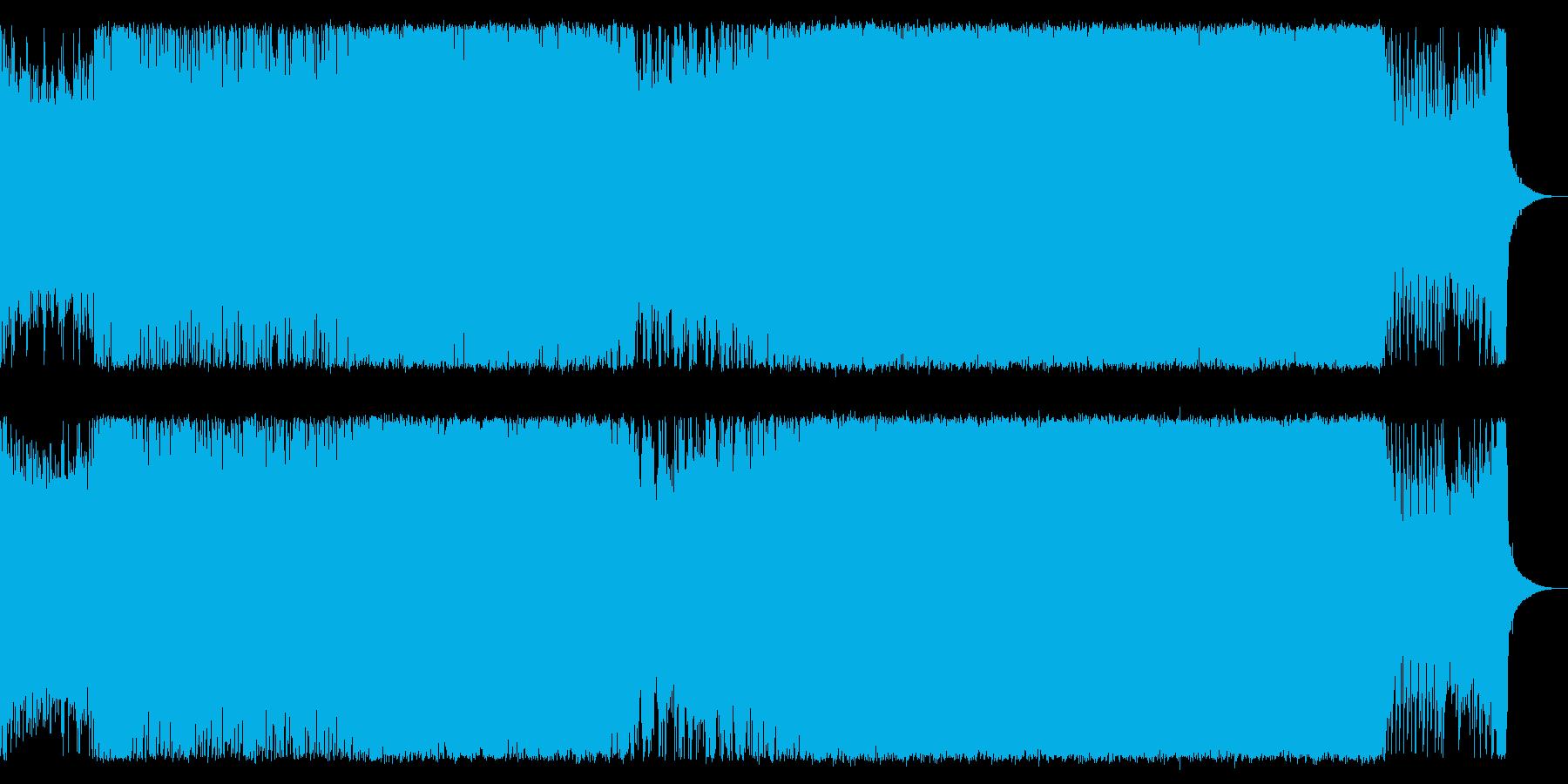 【トランス】わりと強い中ボスバトルの再生済みの波形