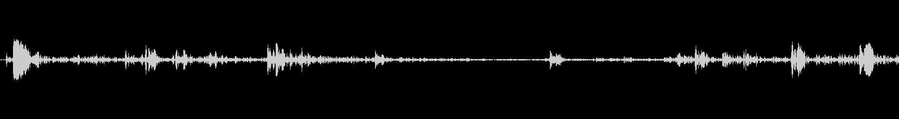 カシャ(シャッター音、ページめくり等の未再生の波形