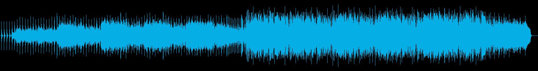ミステリアスな雰囲気で引き込まれる曲の再生済みの波形