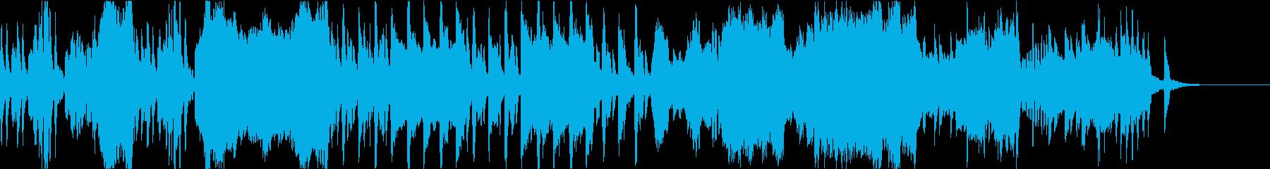 優雅なティータイム向けクラシックの再生済みの波形