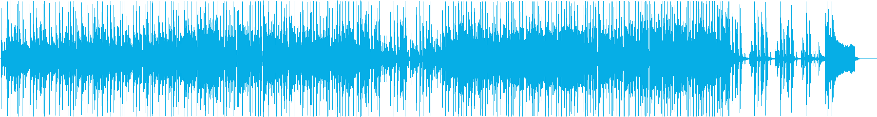商品説明等のBGMや日常シーン向けBGMの再生済みの波形