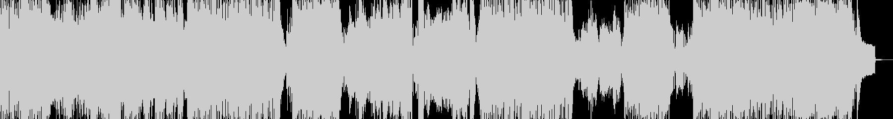 激・異常事態をイメージしたBGMの未再生の波形