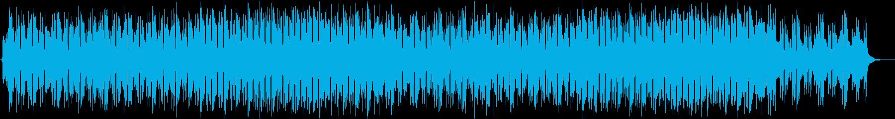 サックスがスタイリッシュでオシャレなBGの再生済みの波形