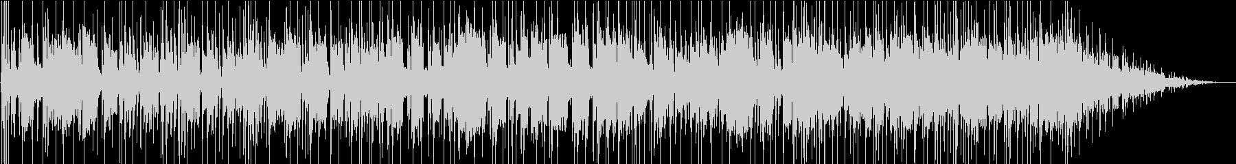 豪華ホーンセクションのアメリカンポップスの未再生の波形