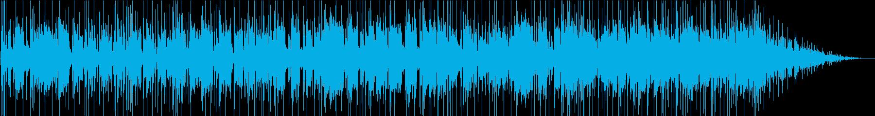 豪華ホーンセクションのアメリカンポップスの再生済みの波形
