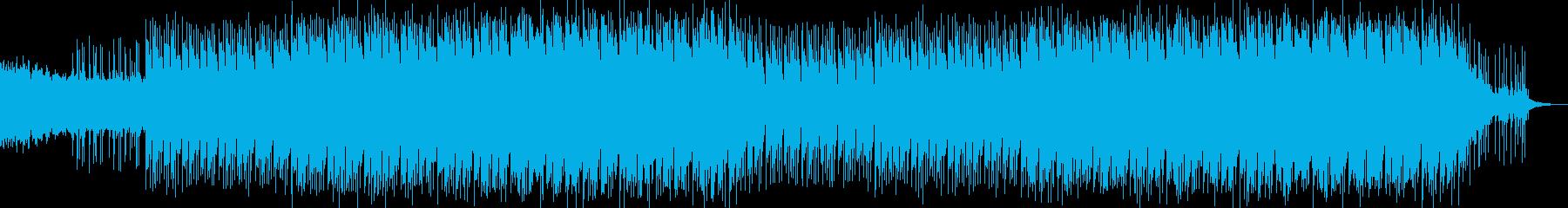 現代的で都会的なシンセミュージック-19の再生済みの波形