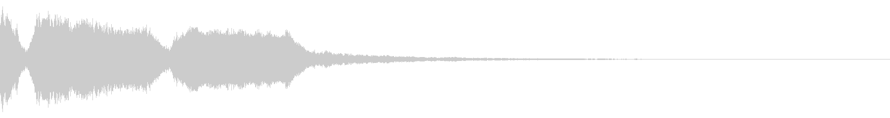 DJFX ヒットチャート発表前SE 3の未再生の波形