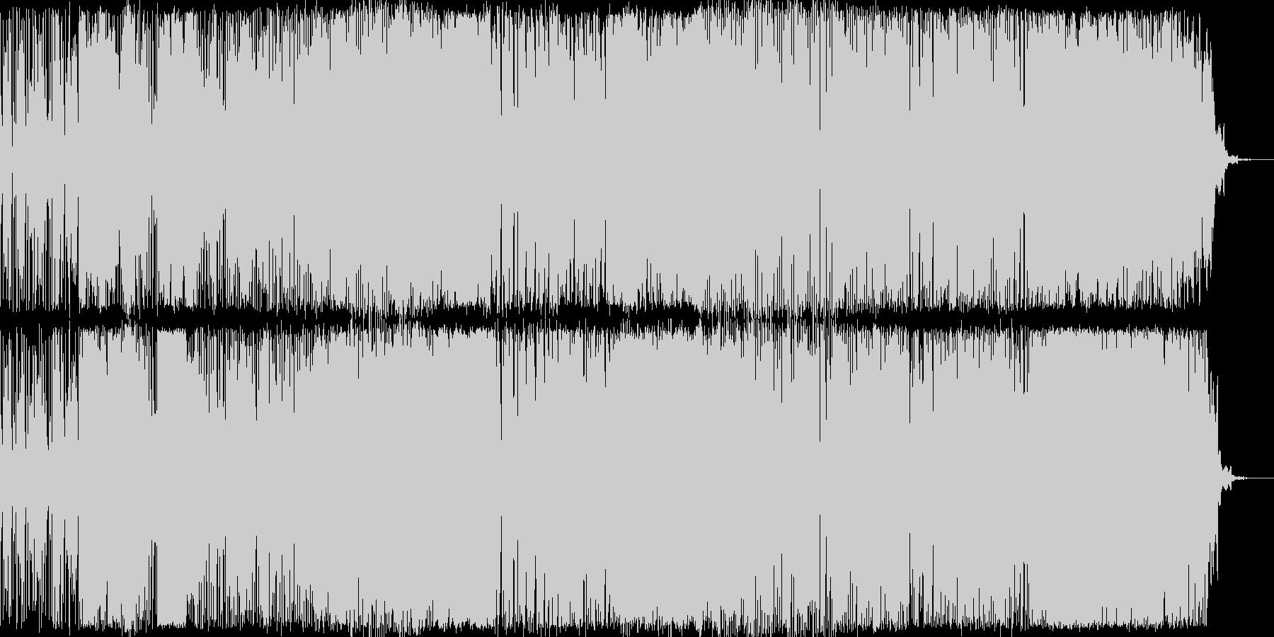 フュージョン 静か やる気 ハイテ...の未再生の波形