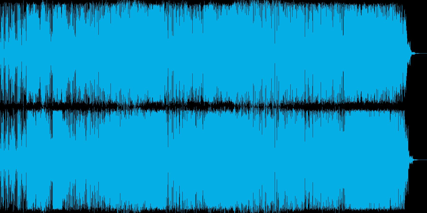 フュージョン 静か やる気 ハイテ...の再生済みの波形