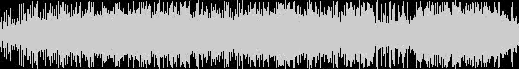 ピアノが軽快なリズムを刻むポップスBGMの未再生の波形