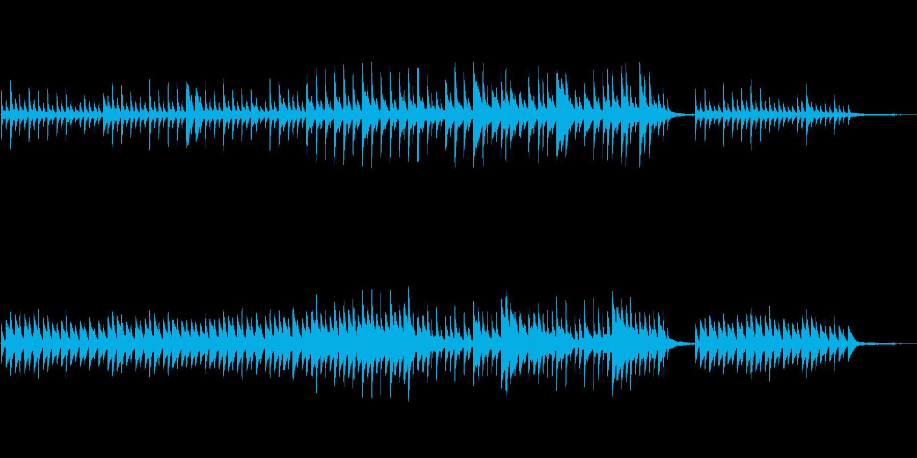 優しく包み込むようなピアノ曲ですの再生済みの波形