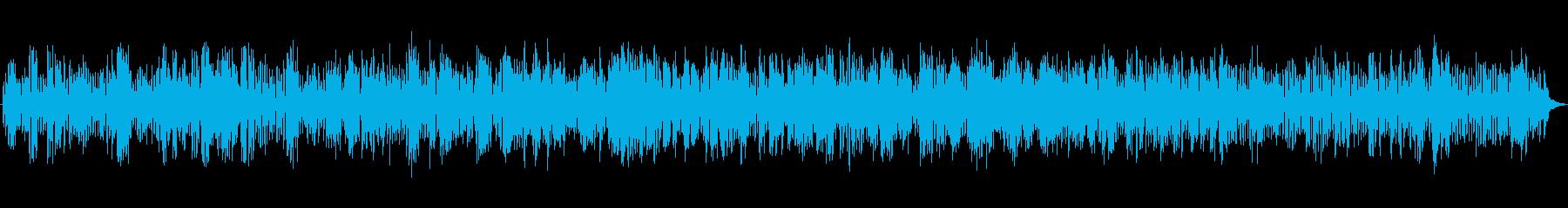 JAZZ|楽しい!を表現した明るいBGMの再生済みの波形