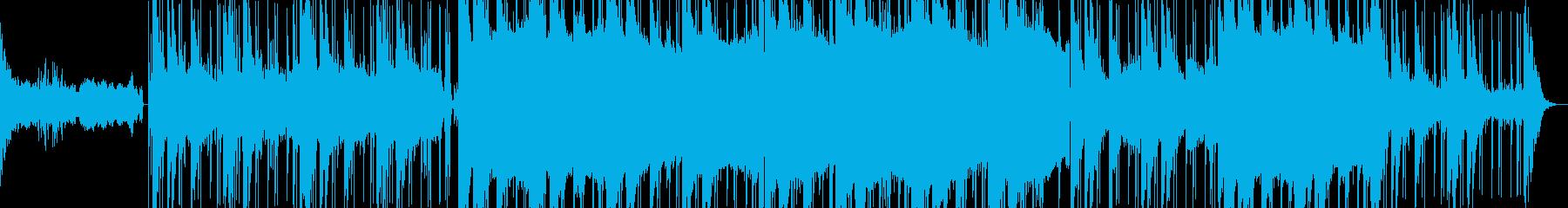 Electronicaの再生済みの波形