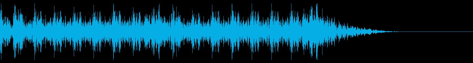 和太鼓ジングル 03の再生済みの波形