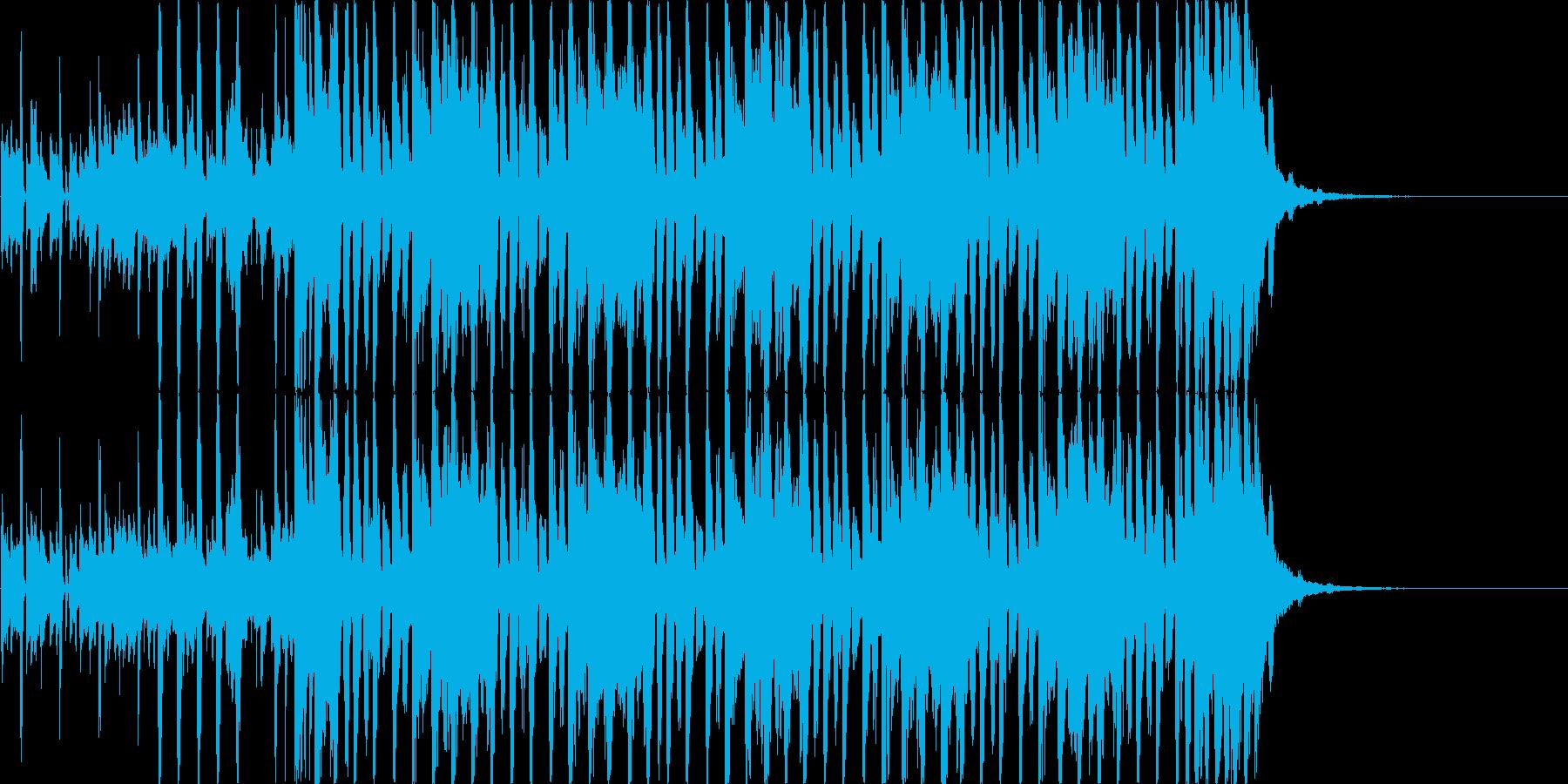 【30秒・CM向け】軽快なギターのハウスの再生済みの波形