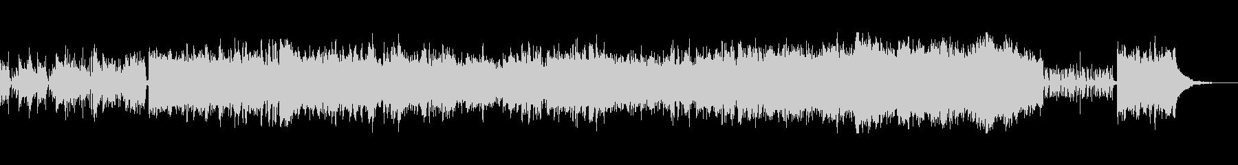 躍動感のあるメロディの疾走系ケルトの未再生の波形