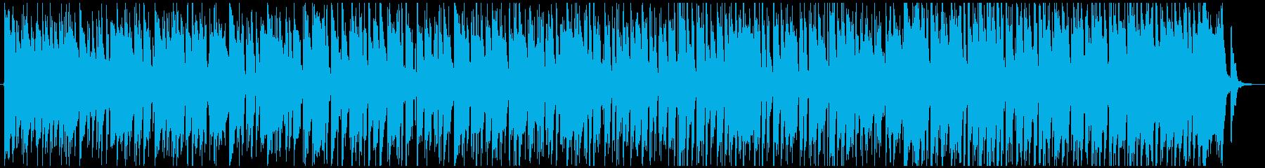 サラサラ ジャズ ブルース ほのぼ...の再生済みの波形