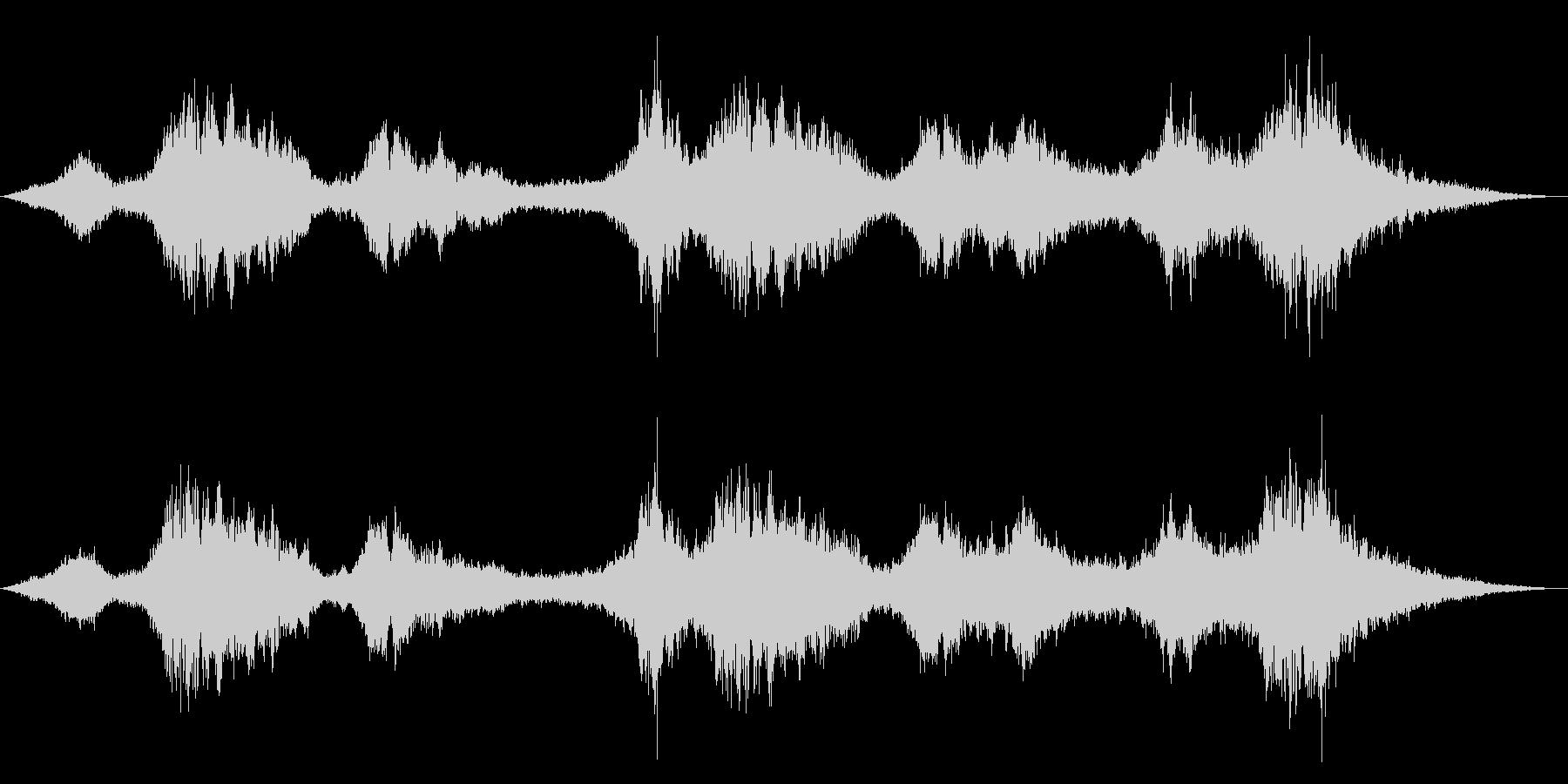 ドローン ストリングス対シンセ01の未再生の波形