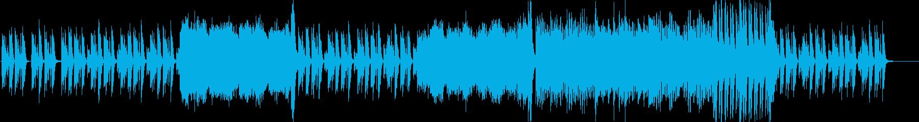 不思議な空気感のピアノの再生済みの波形