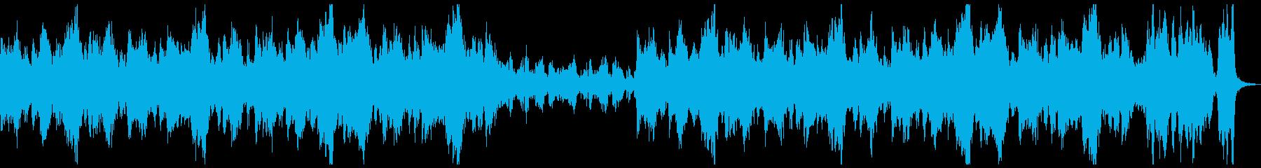 RPG戦闘勝利シーン行進曲ファンファーレの再生済みの波形